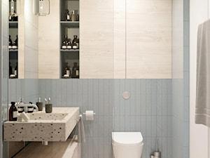 łazienka w pastelowych barwach - zdjęcie od MIKOŁAJSKAstudio
