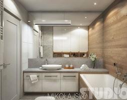 fińska łaźnia w łazience - zdjęcie od MIKOŁAJSKAstudio