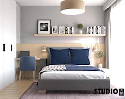 przestronna sypialnia - zdjęcie od MIKOŁAJSKAstudio