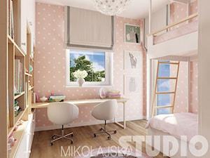 różowy pokoik dla siostrzyczek - zdjęcie od MIKOŁAJSKAstudio