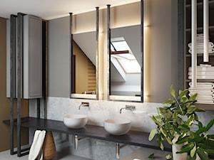 loftowa łazienka - zdjęcie od MIKOŁAJSKAstudio