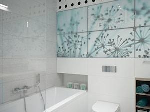 Łazienka w kolorze morskim - zdjęcie od MIKOŁAJSKAstudio