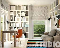 gabinet w domu-projekt - zdjęcie od MIKOŁAJSKAstudio