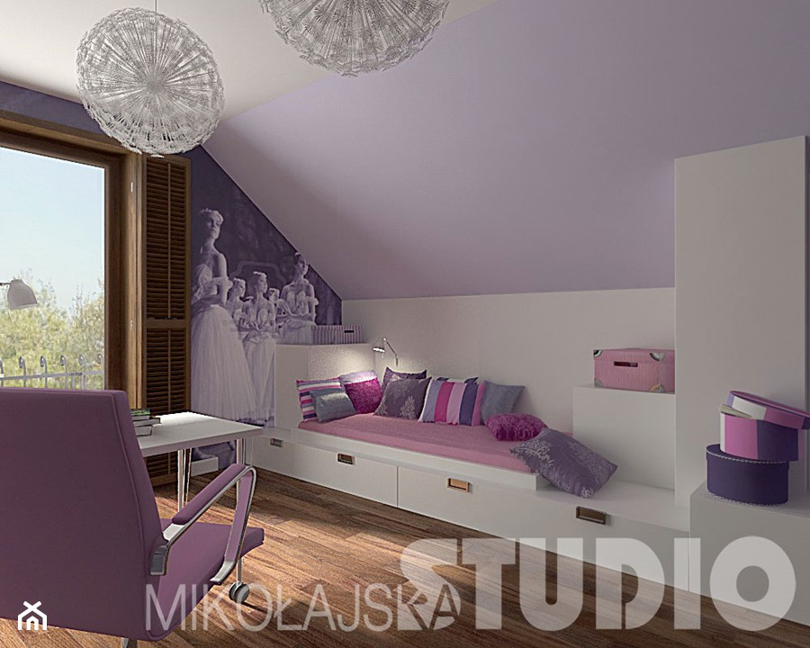 pok j dla dziewczynki zdj cie od miko ajskastudio. Black Bedroom Furniture Sets. Home Design Ideas