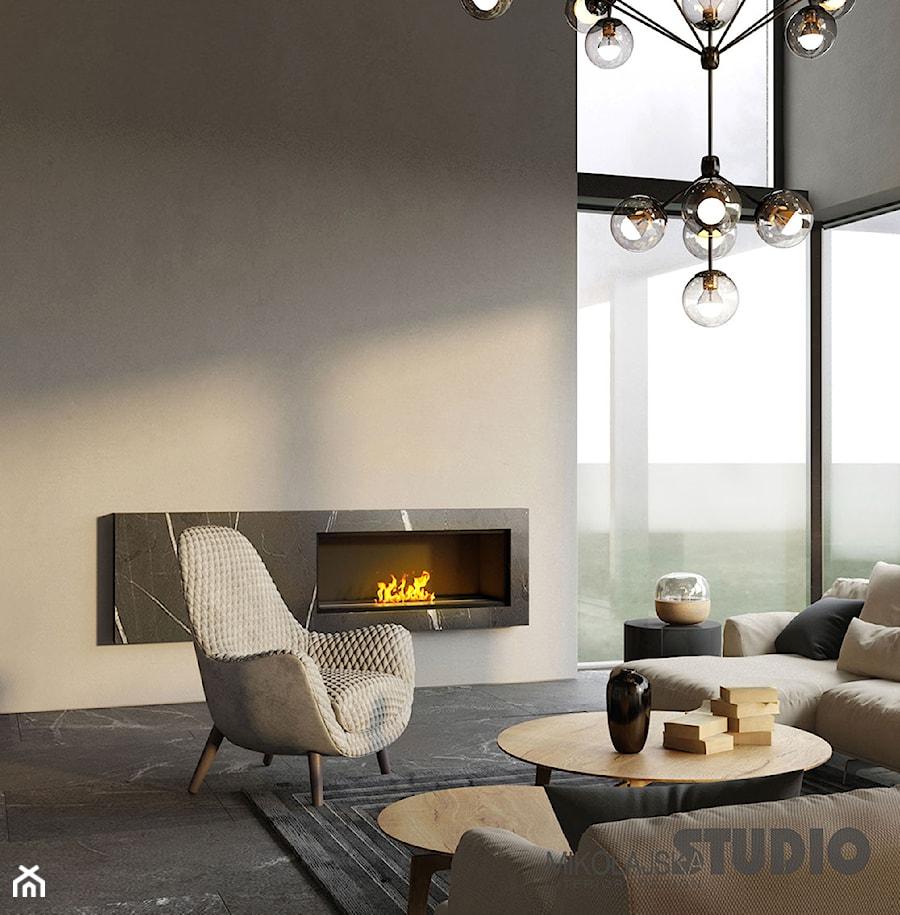 piękne lampy w salonie zdjęcie od miko�ajskastudio
