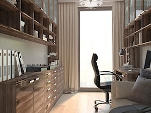 domowy gabinet w stylu angielskim - zdjęcie od MIKOŁAJSKAstudio