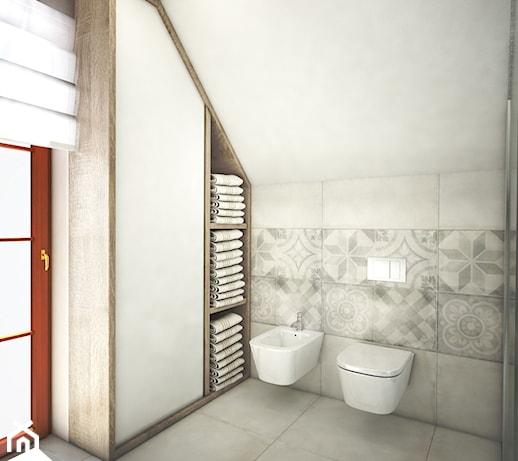 łazienka Pod Skosem Aranżacje Pomysły Inspiracje Z Homebook