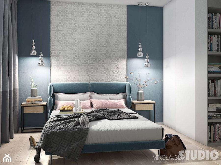 jasna sypialnia-morskie akcenty - zdjęcie od MIKOŁAJSKAstudio