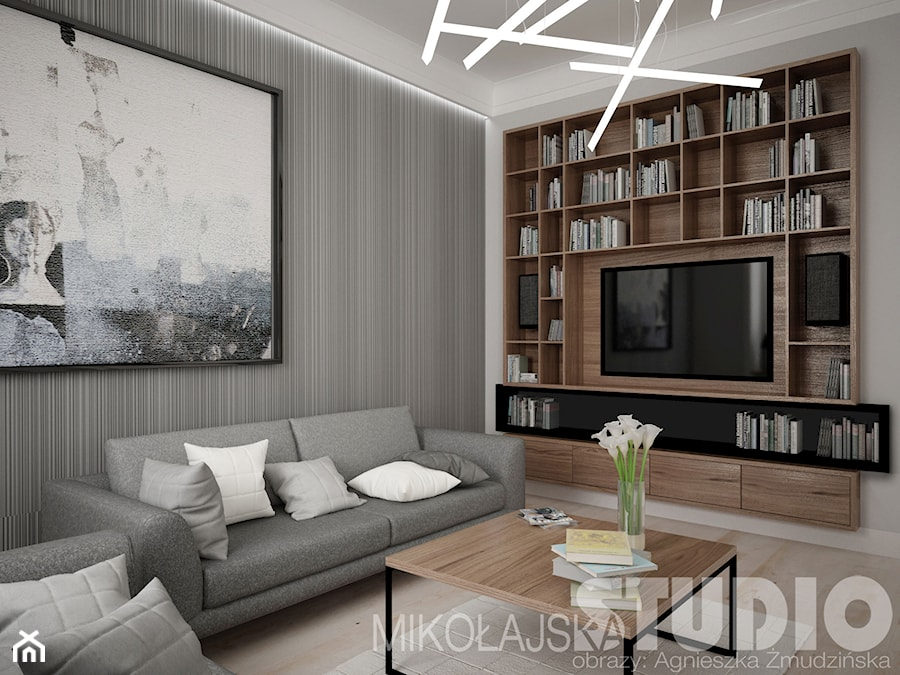 Ekskluzywny salon zdj cie od miko ajskastudio homebook for 3 fifty eight salon