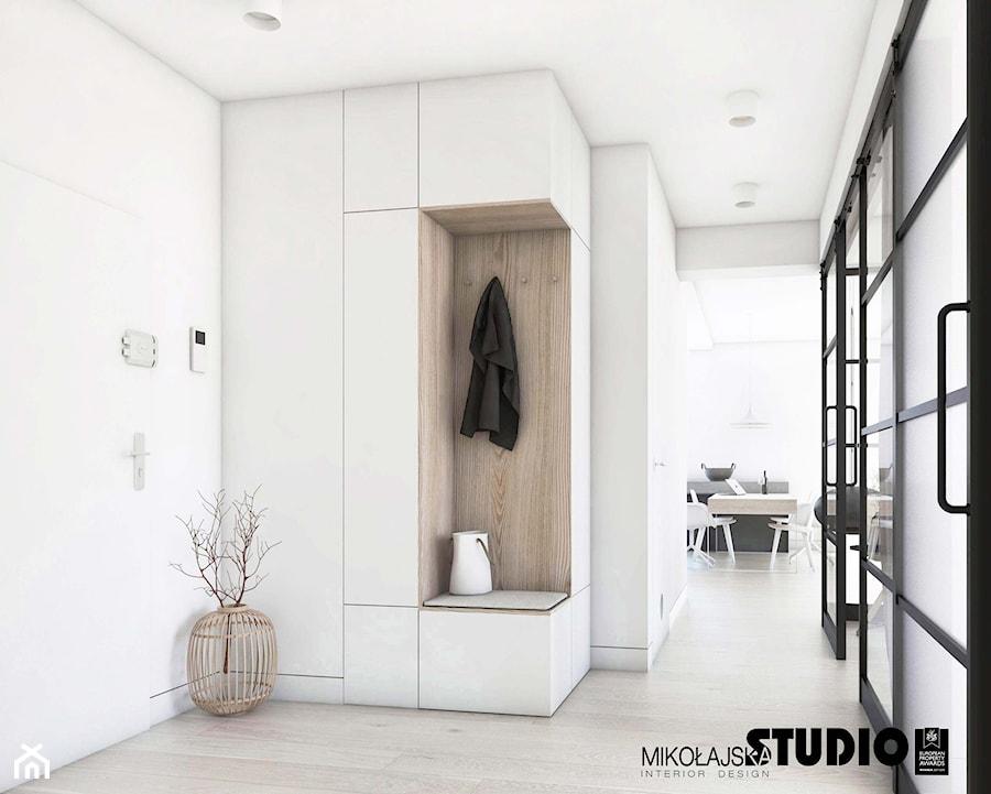 minimalistyczny hall - zdjęcie od MIKOŁAJSKAstudio