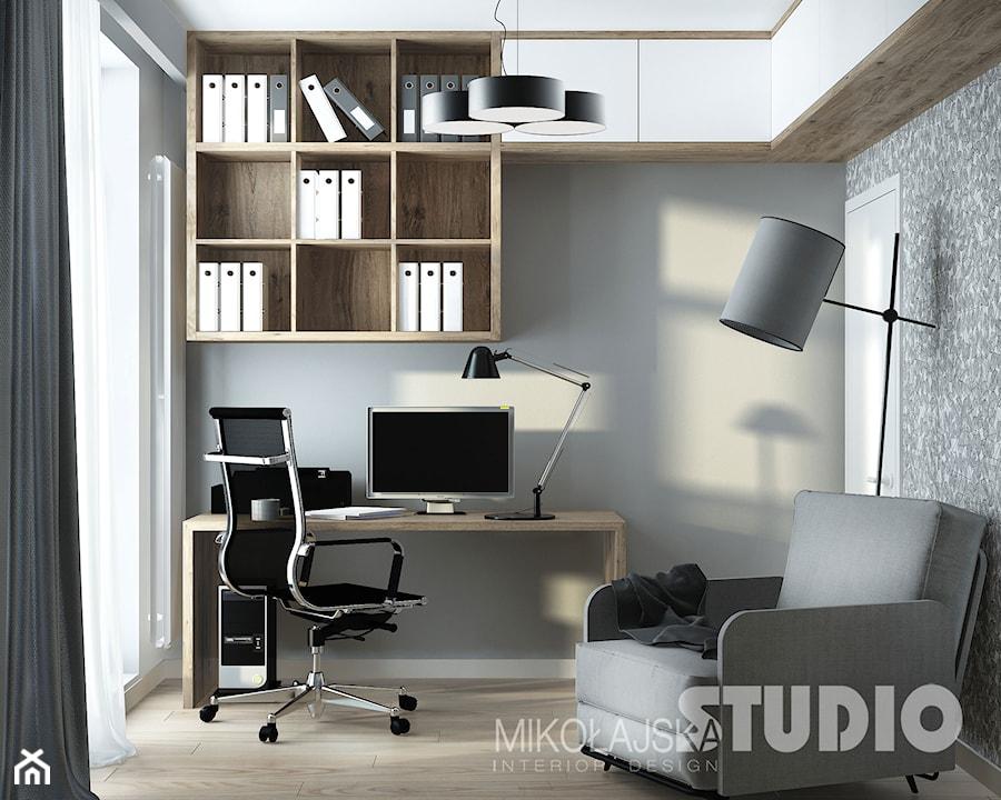 nowoczesny gabinet - zdjęcie od MIKOŁAJSKAstudio