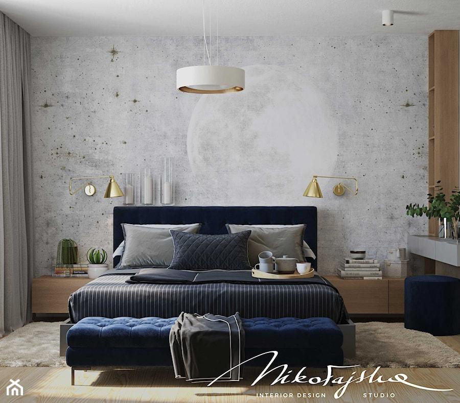 DOM W MAŁOPOLSCE - Sypialnia, styl nowoczesny - zdjęcie od MIKOŁAJSKAstudio