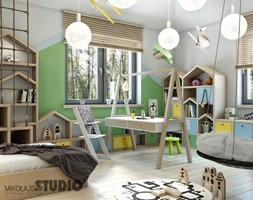 pastelowy pokój dla chłopca - zdjęcie od MIKOŁAJSKAstudio