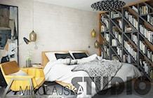 ciepła sypialnia - zdjęcie od MIKOŁAJSKAstudio