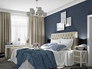 luksusowa sypialnia - zdjęcie od MIKOŁAJSKAstudio