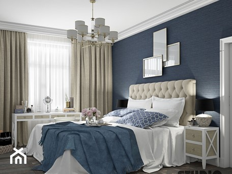 Aranżacje wnętrz - Sypialnia: luksusowa sypialnia - MIKOŁAJSKAstudio. Przeglądaj, dodawaj i zapisuj najlepsze zdjęcia, pomysły i inspiracje designerskie. W bazie mamy już prawie milion fotografii!