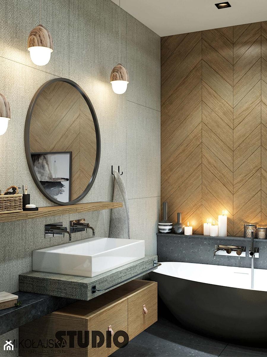 bathroom designed architect - zdjęcie od MIKOŁAJSKAstudio
