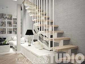 schody w salonie - zdjęcie od MIKOŁAJSKAstudio