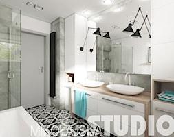 świetlista łazienka - zdjęcie od MIKOŁAJSKAstudio