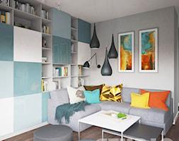 Salon w wesołych kolorach - zdjęcie od MIKOŁAJSKAstudio