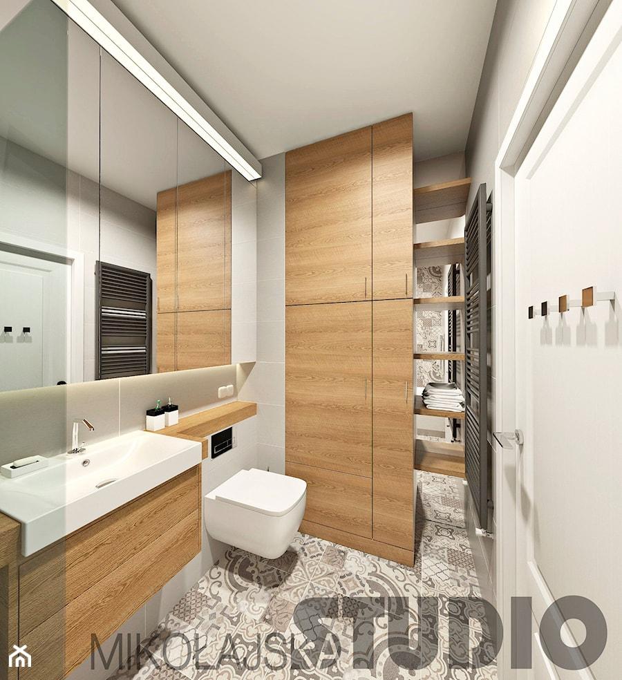 Zabudowa łazienki Zdjęcie Od Mikołajskastudio Homebook