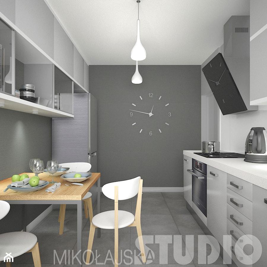 Kuchnia w szarościach  zdjęcie od MIKOŁAJSKAstudio -> Kuchnia W Szarościach Inspiracje