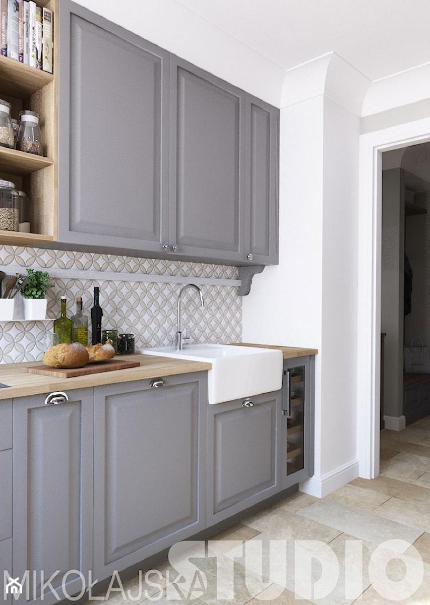 funkcjonalna piękna kuchnia  zdjęcie od MIKOŁAJSKAstudio -> Kuchnia Funkcjonalna Wymiary
