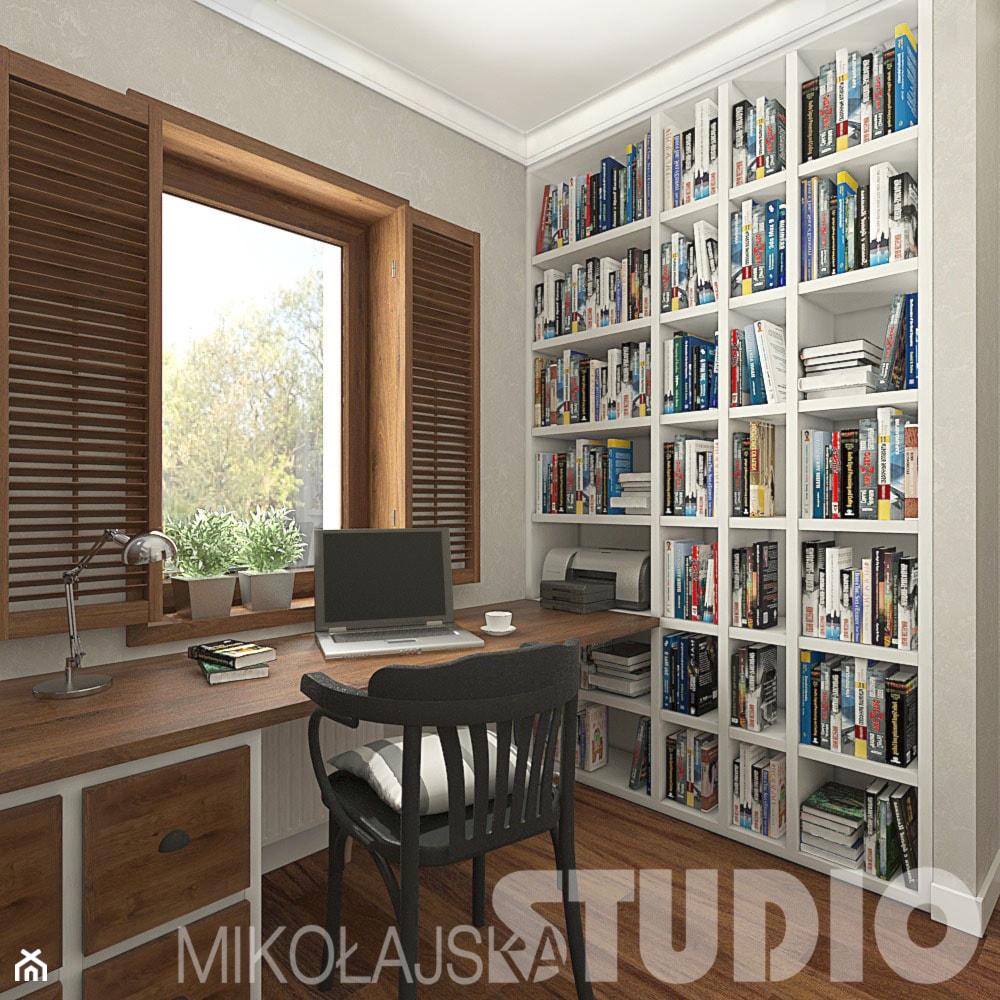 Gabinet - zdjęcie od MIKOŁAJSKAstudio - Homebook