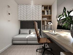 gabinet z sofą - zdjęcie od MIKOŁAJSKAstudio