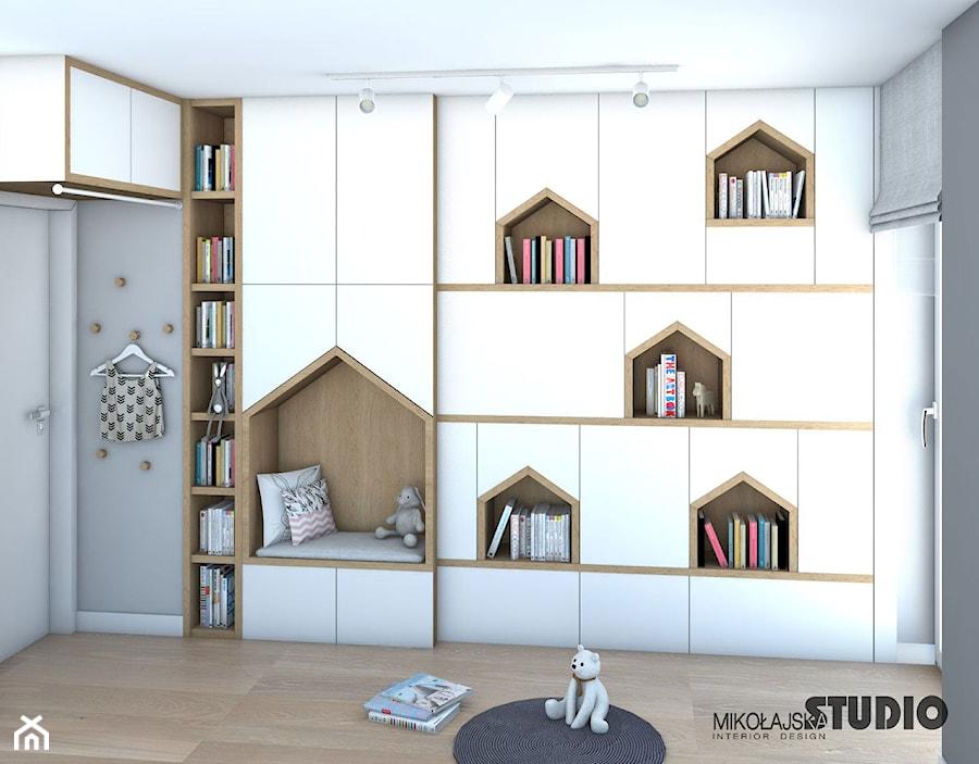 Aranżacje wnętrz - Pokój dziecka: pokój dla dziecka z pomysłem - MIKOŁAJSKAstudio. Przeglądaj, dodawaj i zapisuj najlepsze zdjęcia, pomysły i inspiracje designerskie. W bazie mamy już prawie milion fotografii!