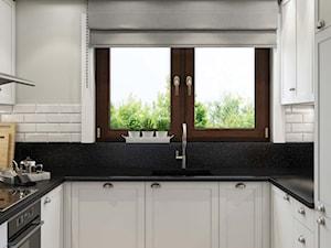 elegancka biała kuchnia - zdjęcie od MIKOŁAJSKAstudio