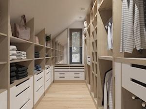 garderoba w drewnie - zdjęcie od MIKOŁAJSKAstudio