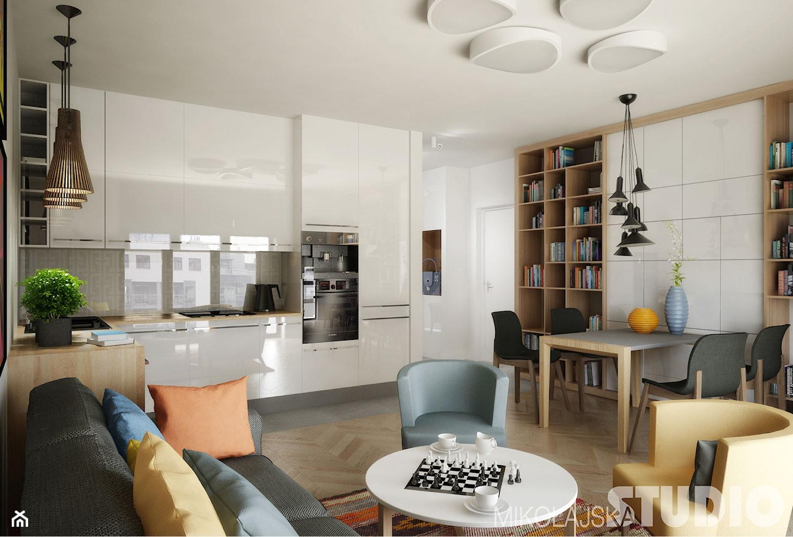Kuchnia w stylu skandynawskim - zdjęcie od MIKOŁAJSKAstudio - Homebook