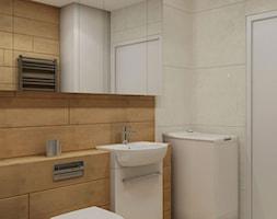Łazienka w drewnie - zdjęcie od MIKOŁAJSKAstudio