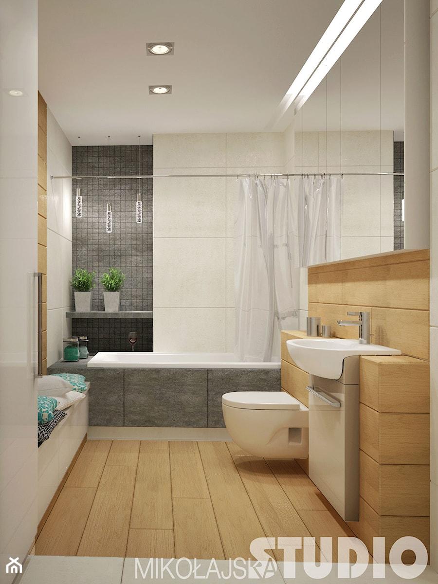 Elegancka łazienka - zdjęcie od MIKOŁAJSKAstudio