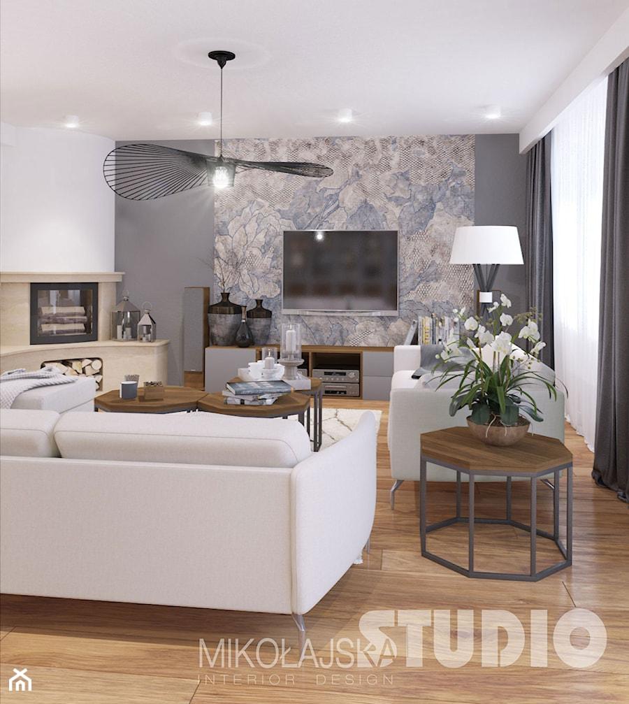 Romantyczny salon - zdjęcie od MIKOŁAJSKAstudio