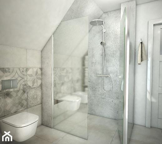 Mała łazienka Pod Skosem Pomysły Inspiracje Z Homebook