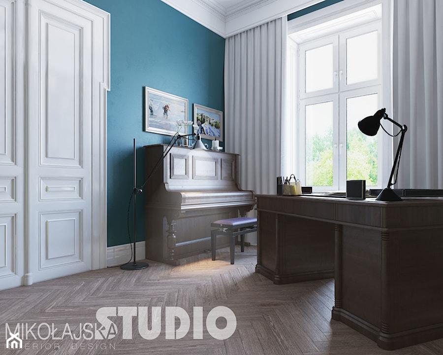 home office-kamienica - zdjęcie od MIKOŁAJSKAstudio