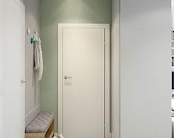 mały korytarz-jak urządzić - zdjęcie od MIKOŁAJSKAstudio