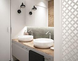 LOFT style - Średnia biała łazienka, styl skandynawski - zdjęcie od MIKOŁAJSKAstudio - Homebook