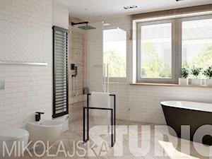 łazienka-cegła - zdjęcie od MIKOŁAJSKAstudio