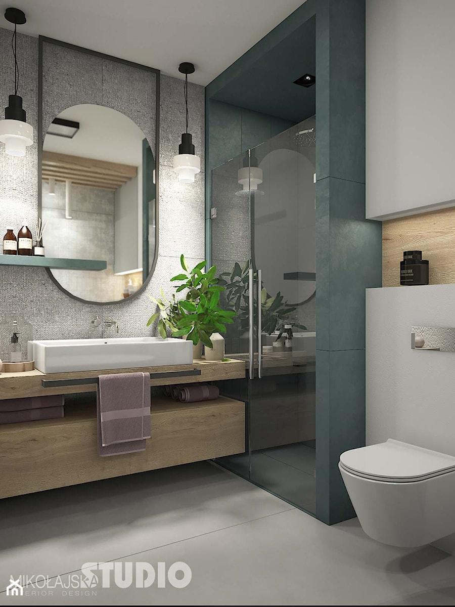 Zielona łazienka Aranżacje Pomysły Inspiracje Homebook