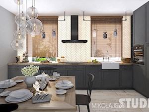 kuchnia rustykalna-loft - zdjęcie od MIKOŁAJSKAstudio