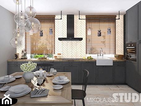 Aranżacje wnętrz - Kuchnia: kuchnia rustykalna-loft - MIKOŁAJSKAstudio. Przeglądaj, dodawaj i zapisuj najlepsze zdjęcia, pomysły i inspiracje designerskie. W bazie mamy już prawie milion fotografii!