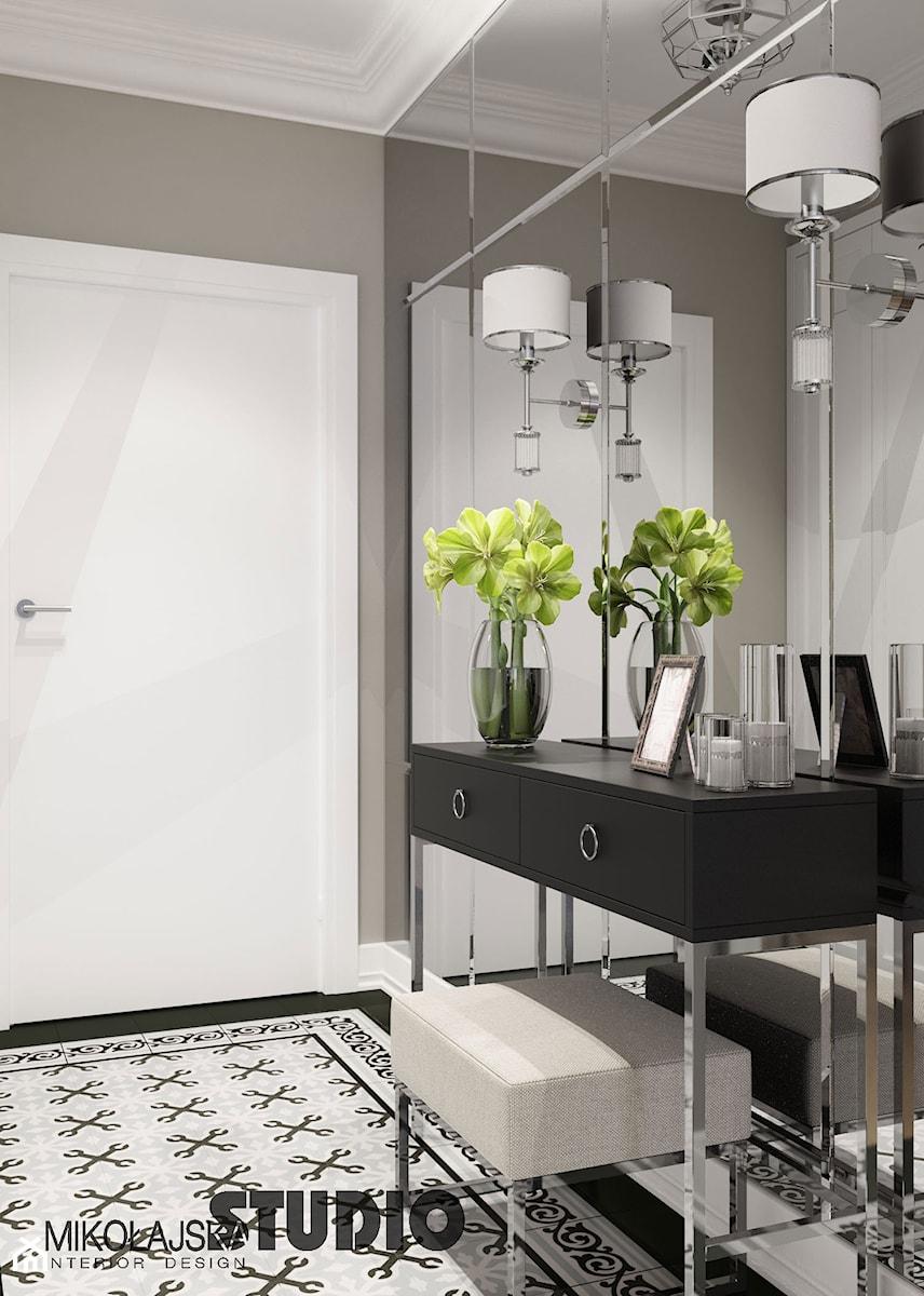 elegancki korytarz - zdjęcie od MIKOŁAJSKAstudio