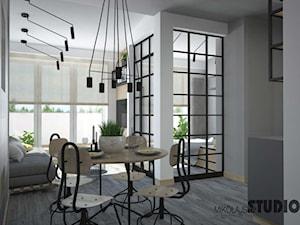 mieszkanie z otwartą przestrzenią - zdjęcie od MIKOŁAJSKAstudio