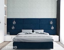 sypialnia+niebieskie+akcenty+-+zdj%C4%99cie+od+MIKO%C5%81AJSKAstudio