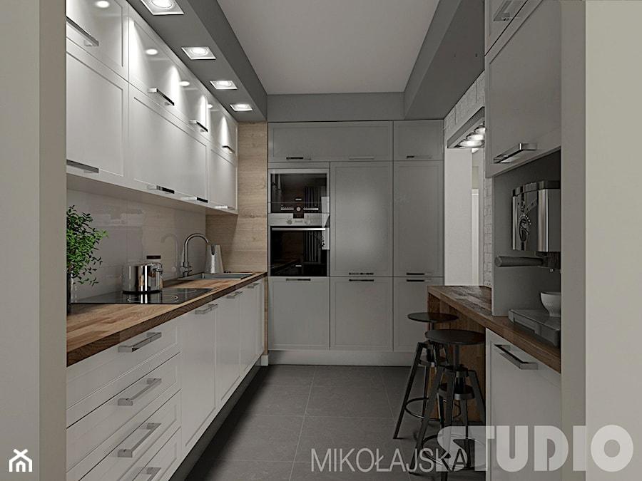 Kuchnia w stylu skandynawskim  zdjęcie od MIKOŁAJSKAstudio -> Kuchnia Z Jadalnią Styl Skandynawski