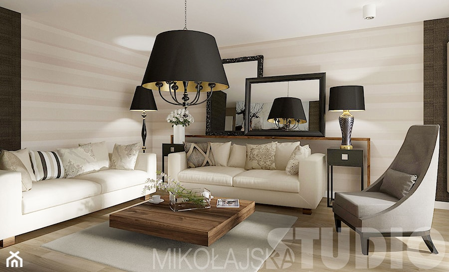 Wyrafinowany apartament - zdjęcie od MIKOŁAJSKAstudio