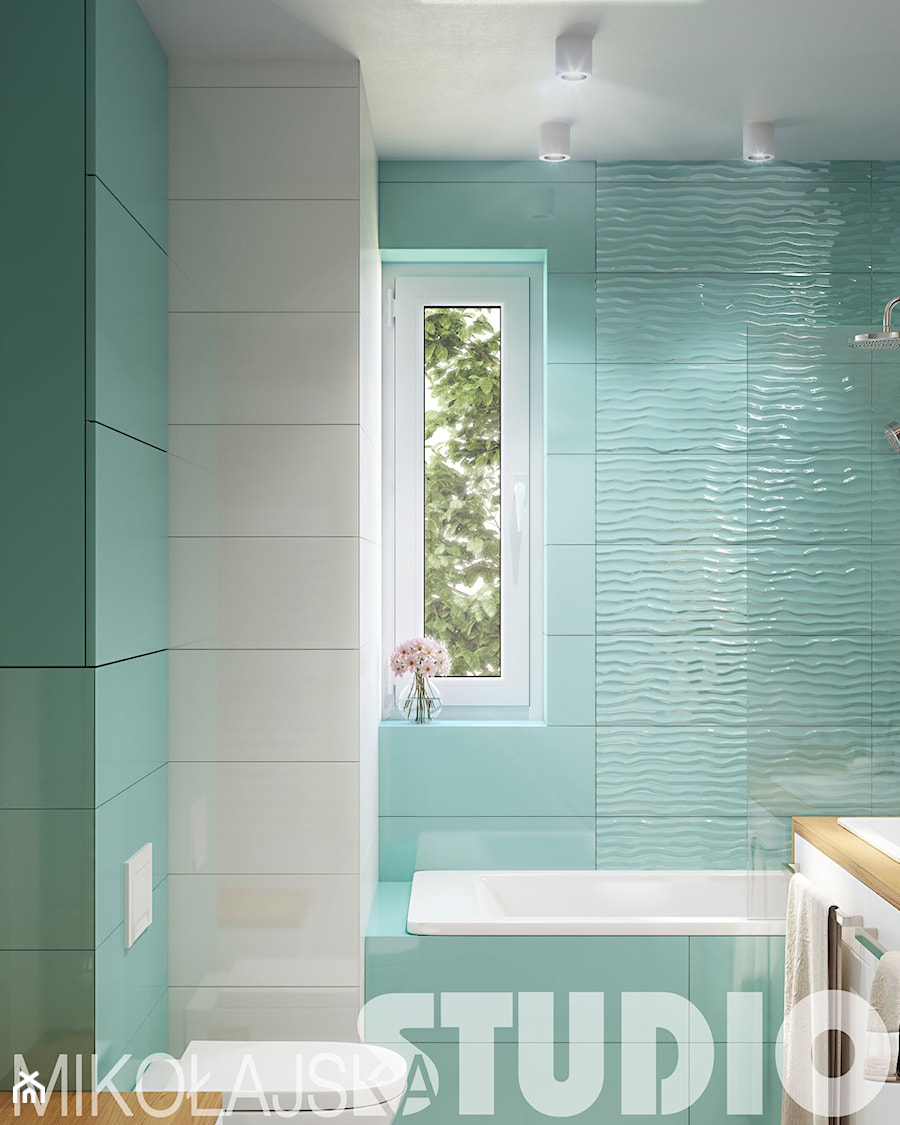 łazienka Z Turkusowymi Płytkami Aranżacje Pomysły